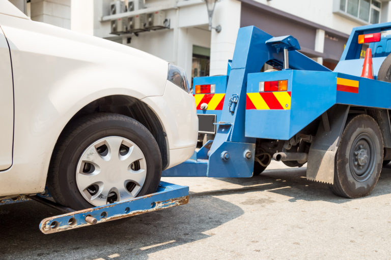 Wheel Lift Tow Truck